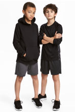 2-pack sports shorts - Black/Dark grey -  | H&M 1