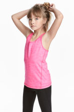 Sports top - Pink - Kids | H&M 1