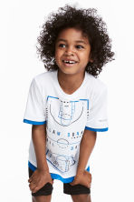 Sports top - White - Kids | H&M CN 1