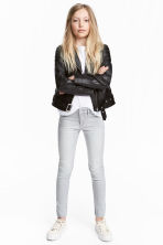 Superstretch Skinny Fit Jeans - Grijs washed out - KINDEREN | H&M NL 1