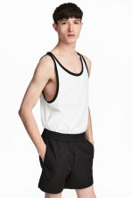 Wide vest top - White - Men | H&M 1
