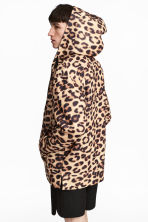 Oversized hooded jacket - Leopard print - Men | H&M IE 1