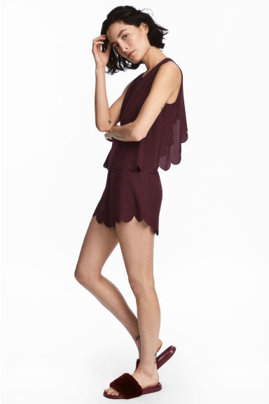Playsuit - Plum - Ladies | H&M 1