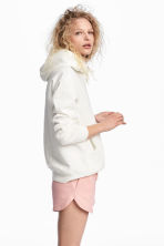 Sweatshirt shorts - Light pink - Ladies | H&M 1