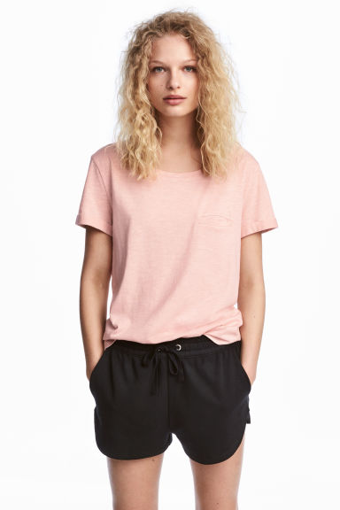 Sweatshirt shorts - Black - Ladies | H&M 1