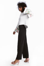 Wide trousers - Black - Ladies | H&M CN 1