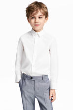 Camisa Easy iron - Blanco -  | H&M ES 1