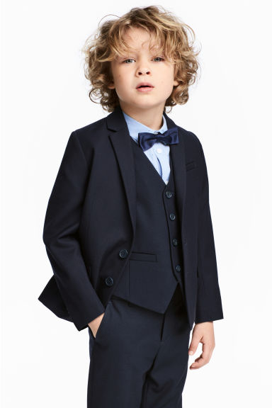Two-button jacket - Dark blue - Kids | H&M 1