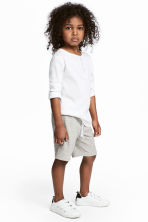 Sweatshirt shorts - Grey marl - Kids | H&M 1