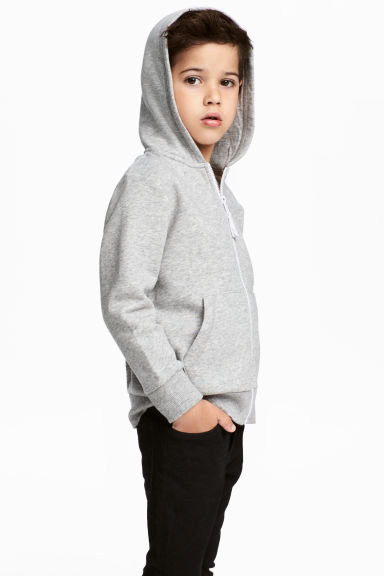 連帽外套 - Grey marl - Kids | H&M 1