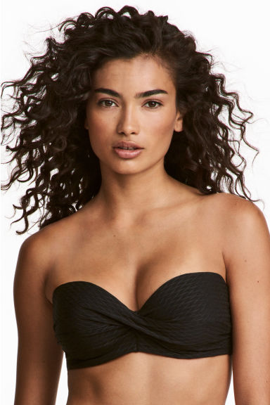 Bikini top - Black - Ladies | H&M GB 1