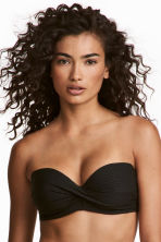 Bikini top - Black - Ladies | H&M 1