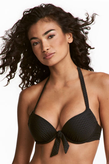 Super push-up bikini top - Black - Ladies | H&M CA