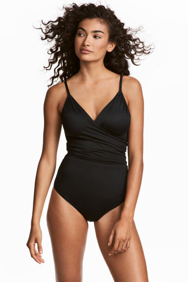 Shaping swimsuit - Black - Ladies | H&M 1