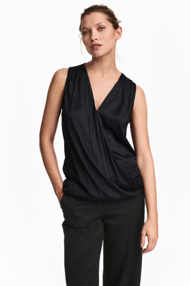 MAMA Nursing blouse - Black - Ladies | H&M CA 1