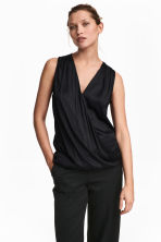 MAMA Nursing blouse - Black - Ladies | H&M 1
