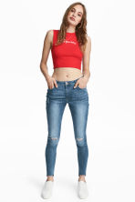 Super Skinny Ankle Jeans - Denim blue - Ladies | H&M 1