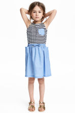 Sleeveless dress - Blue - Kids | H&M CN 1