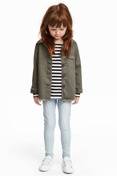 Treggings - Pale denim blue - Kids | H&M CA 1