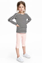 3/4-length treggings - Light pink - Kids | H&M 1