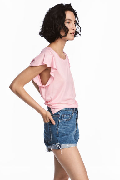 Jersey top - Light pink - Ladies | H&M 1