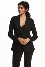 Fitted jacket - Black - Ladies | H&M 1