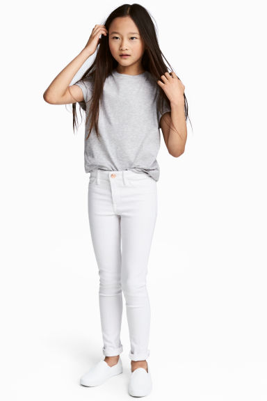 Superstretch Skinny Fit Jeans - Wit - KINDEREN | H&M NL 1