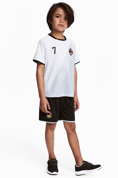 Football set - White/Germany - Kids | H&M CA 1