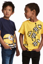 2-pack T-shirts - Yellow/Minions - Kids | H&M CA 1