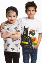 2-pack T-shirts - Grey/Lego - Kids | H&M 1