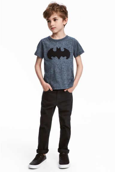 Twill trousers Regular fit - Black - Kids | H&M 1