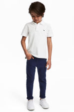 Twill trousers Regular fit - Dark blue - Kids | H&M 1