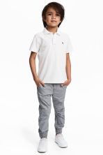 Cotton pull-on trousers - Grey - Kids | H&M 1