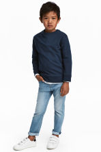 Slim Fit Jeans - Light denim blue - Kids | H&M 1