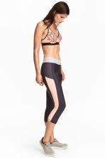 Leggings sportivi a tre quarti - Grigio scuro - DONNA | H&M IT 1