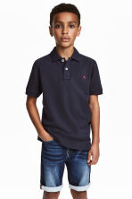 Polo衫 - Dark blue - Kids | H&M 1