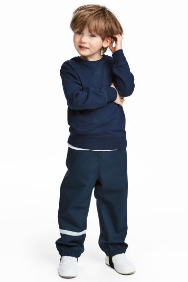 Shell trousers - Dark blue - Kids | H&M CN 1