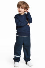 Shell trousers - Dark blue - Kids | H&M 1