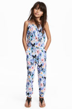Patterned jumpsuit - Purple/Pink - Kids | H&M 1
