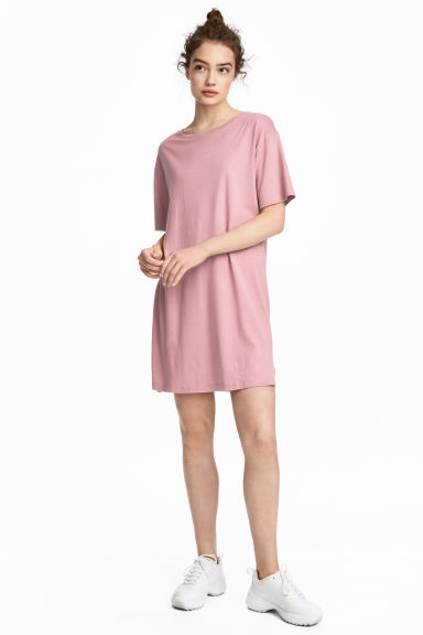 T-shirt dress - Vintage pink - Ladies | H&M CA 1