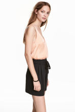 Short shorts - Black - Ladies | H&M 1