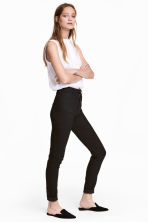 Trousers High waist - Black - Ladies | H&M 1