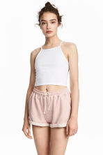 Cropped top - White - Ladies | H&M GB 1