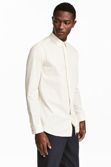 棉質襯衫 - White - Men | H&M
