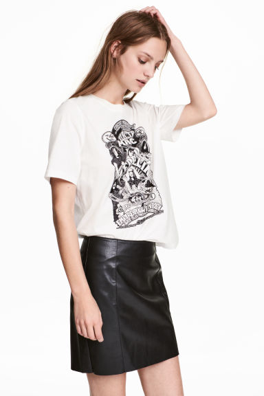 Short skirt - Black -  | H&M 1