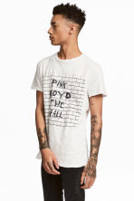 棉質平紋T恤 - Light grey/Pink Floyd - Men | H&M 1