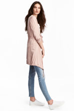 Satin parka - Powder pink - Ladies | H&M CN 1
