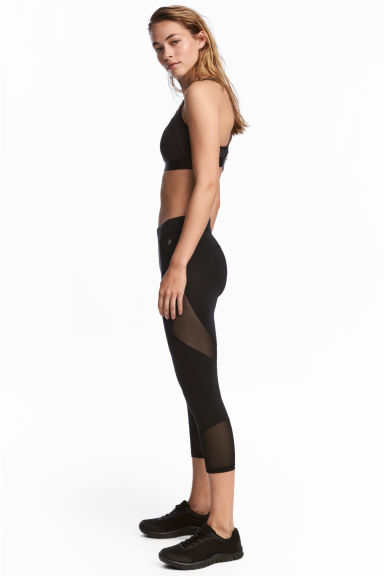 3/4-length running tights Model