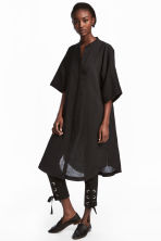 Kaftan dress - Black - Ladies | H&M 1