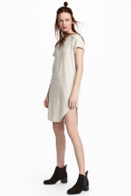Sweatshirt dress - Light beige - Ladies | H&M 1